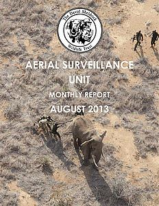 Aerial Survelliance Report for August 2013