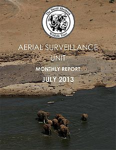 Aerial Survelliance Report for July 2013