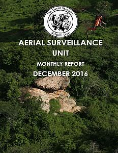 Aerial Survelliance Report for December 2016
