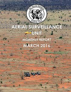 Aerial Survelliance Report for March 2016