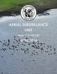 Aerial Survelliance Report for April 2014