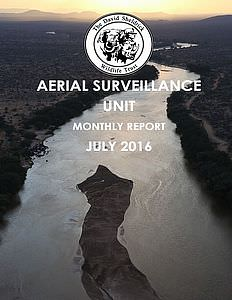 Aerial Survelliance Report for July 2016