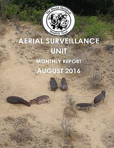 Aerial Survelliance Report for August 2016