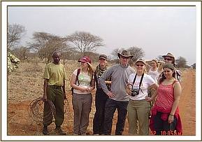 Ziwani Team with WSPA visitors