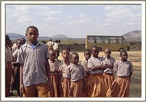 MAKTAU STUDENTS AT SHETANI LAVA