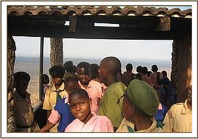 the school trip to Tsavo East