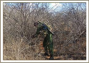 Game snares lifting at mathae area