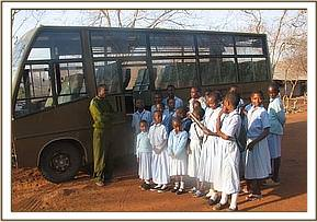 kighononyi sch prepare for a field trip