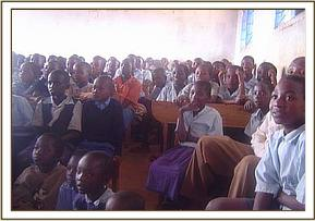 Mlilo primary school during a conservation video