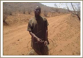 The arrested poacher