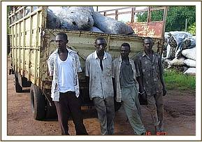 Four arrested charcoal burners