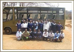 Kasaala Students during thier trip