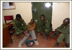 Bush meat poacher arrested at Metava