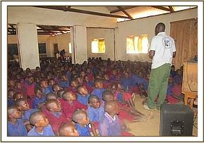Muusini primary school video show