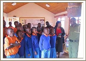 Maikuu primary school visit the Park
