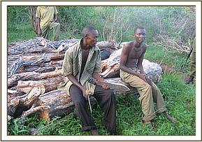 Two arrested charcoal burners