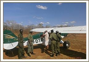 Air recce Kibwezi forest