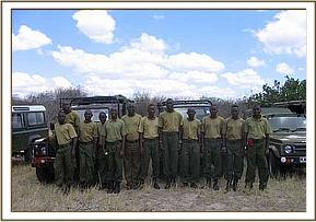 The Ithumba & Gazi de-snaring teams