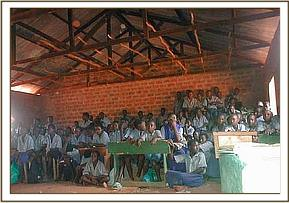 Video show at Kalela primary school