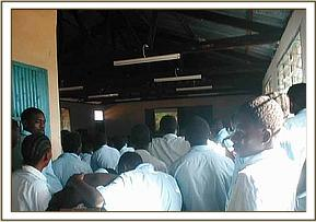Video show at Munda Secondary school