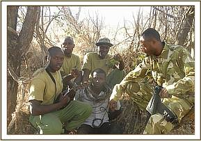 A poacher arrested in the Park