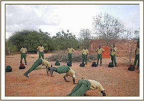 Training of the desnaring team members