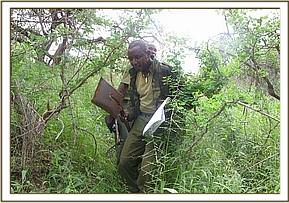 Team members on patrol