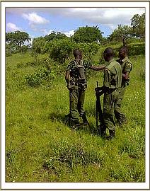 Desnaring team and game scouts