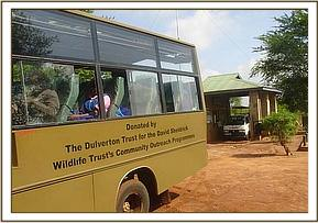 DSWT bus through the Mtito gate