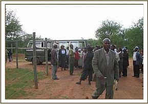 Tsavo west and ithumba committee members tour