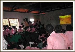 Video show at  Kalambe primary