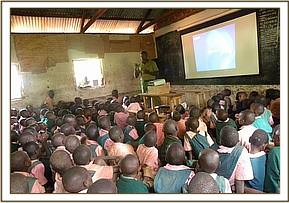 Matangini primary school video show