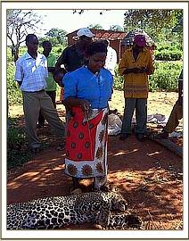 Woman who snared Leopard