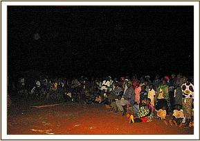 Wildlife film show in Mtito town