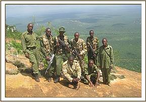 The Team on the Ithumba Hill