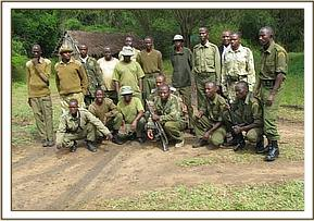 Chyulu and Mtito teams joint operation