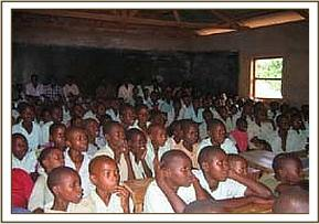 Ngwate primary school students
