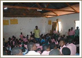 Community education at Kalambe primary