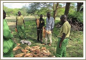 Illegal wood carvers arrested