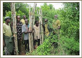 Arrested loggers at Usalama