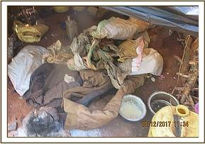 Items found in the poachers hideout