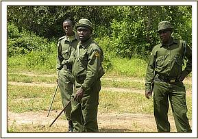 Desnaring exercise in kibwezi forest
