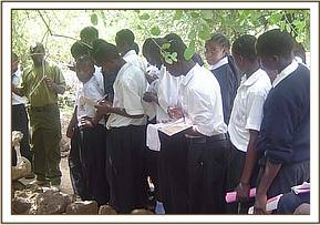 Chala students learn about Mzima Springs