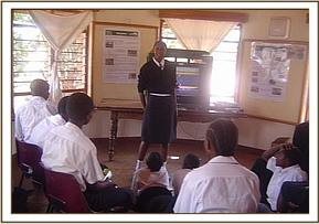 Chala Students at the Tsavo west education centre