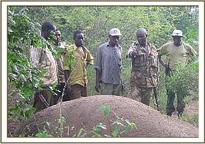 The arrested ivory poachers