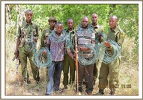 Poachers arrested with snares