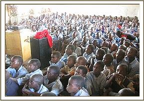 Film show at Ngwate Primary School