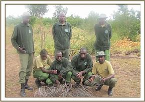 The Team with the snares collected in the month