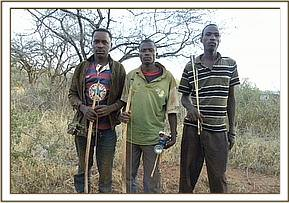 Arrest of poachers