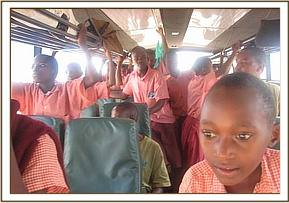 Mwandisha students on their field trip